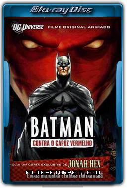Batman Contra o Capuz Vermelho Torrent 2010 1080p BluRay Dublado
