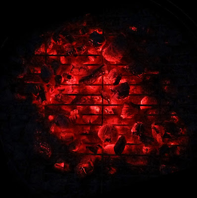 BBQ, Red Hot Coals, Charcoal, Hot