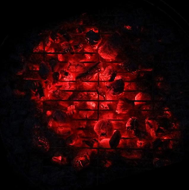 BBQ, Red Hot Coals, Charcoal, Hot
