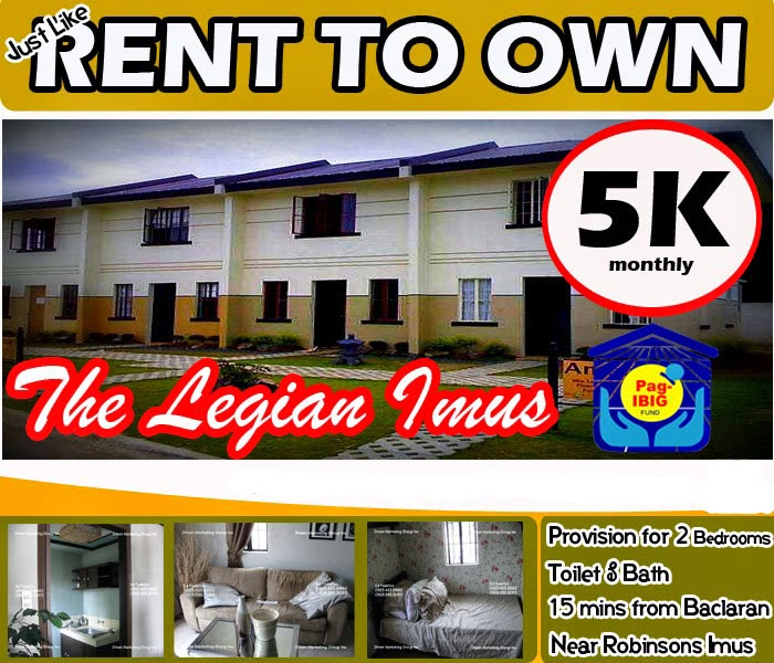 Cheap Rent: Rent To Own Property PH