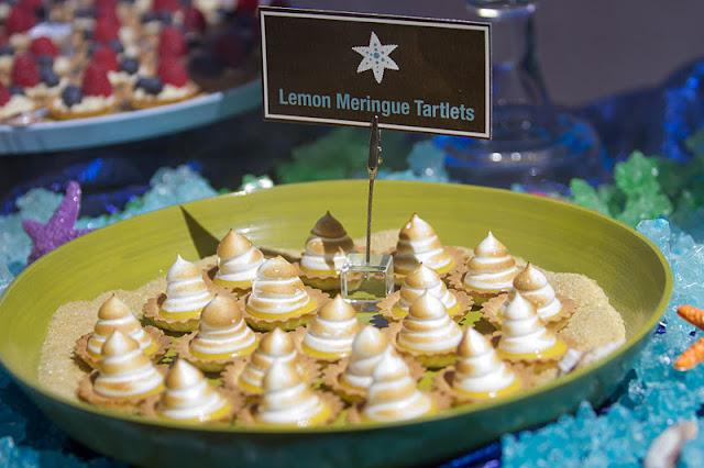 Cocoa Amp Fig Ocean Themed Dessert Table