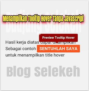 title link Hover dengan efek Tooltip