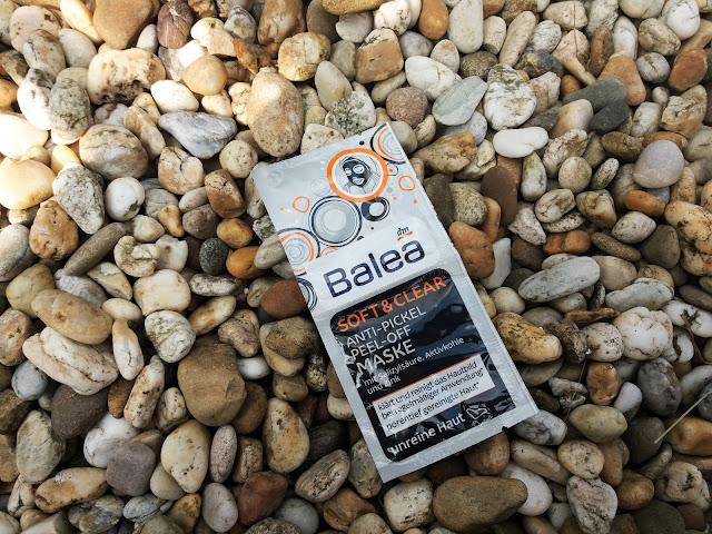 BALEA SOFT & CLEAR ANTI- PICKEL PEEL- OFF FACE MASK