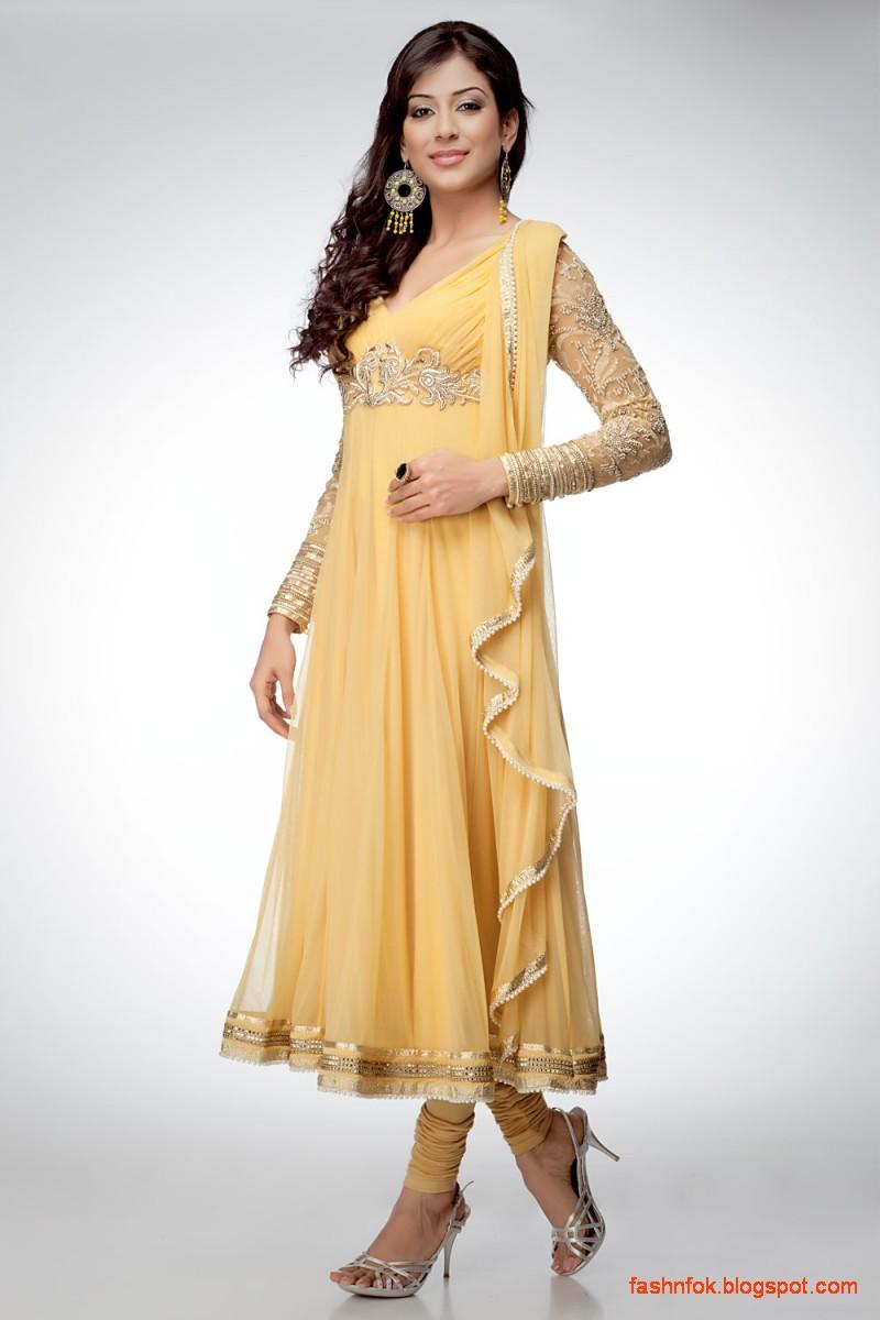 Fashion Fok Anarkali Indian Umbrella Fancy Frocks Anarkali Churidar Shalwar Kameez New