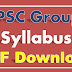 TSPSC Group 4 Syllabus PDF Telangana Group IV Exam Syllabus Books