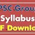 TSPSC Group 4 Syllabus PDF Telangana Group IV Exam Syllabus Books