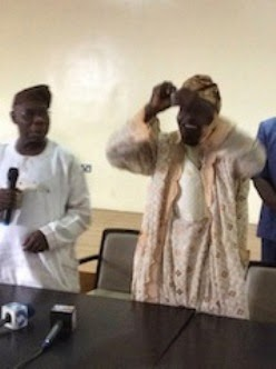 Photos of Obasanjo tearing his PDP membership card causes stir online