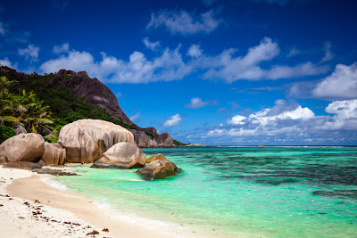 Anse Source d'Argent - Bacardi Traumstrand auf La Digue