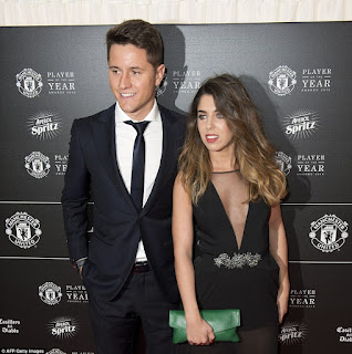 Herrera And Girlfriend Isabel At Awards