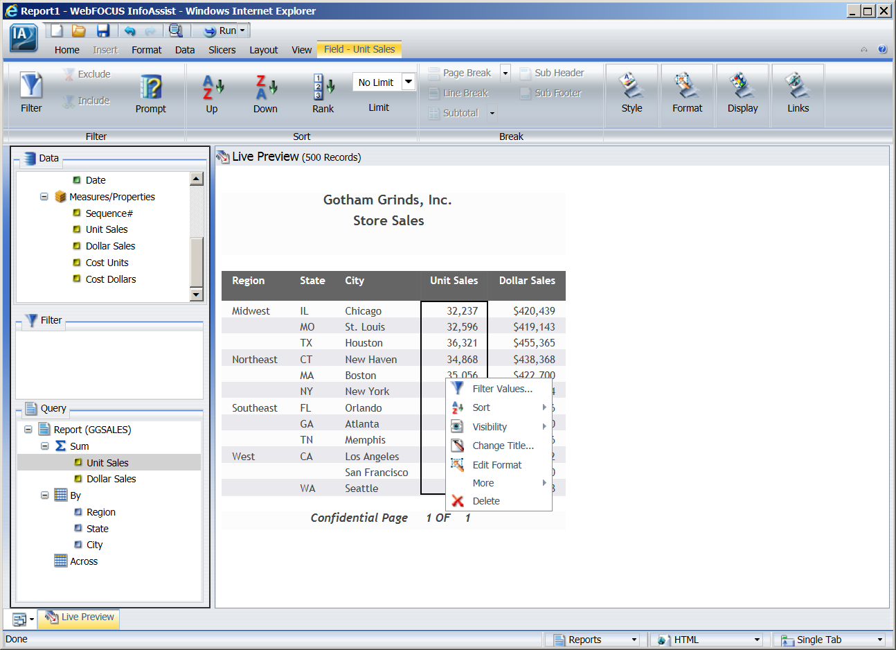 Developing BI/BA Web and Mobile Applications with WebFOCUS