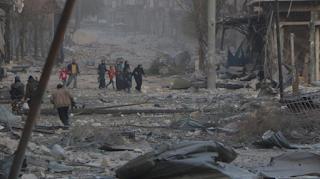 Milisi Syiah Cegat Warga Aleppo Timur yang Ingin Selamatkan Diri