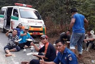 Longsor di Jalan Koto Lamo dan Gelugur Kapur IX November 2018