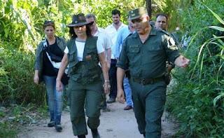 Seguridad en la Frontera argentina que se refuerza