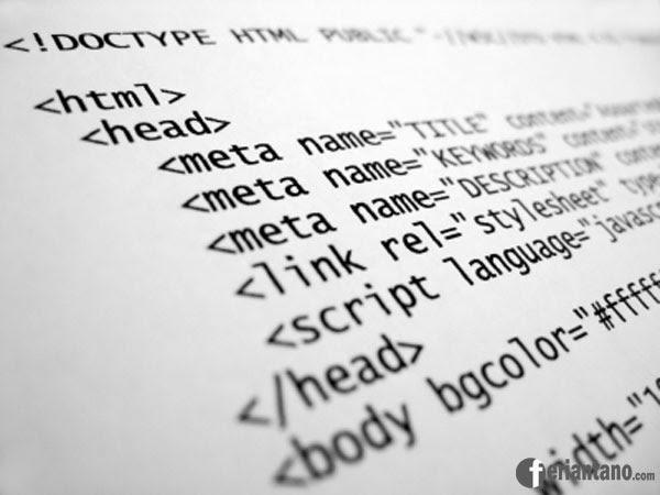 Pengertian dan Fungsi HTML (HyperText Markup Language) - Feriantano.com