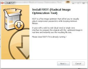 Memperkecil Size Gambar Tanpa Menurunkan Kualitas Menggunakan Radical Image Optimization Tool (RIOT)