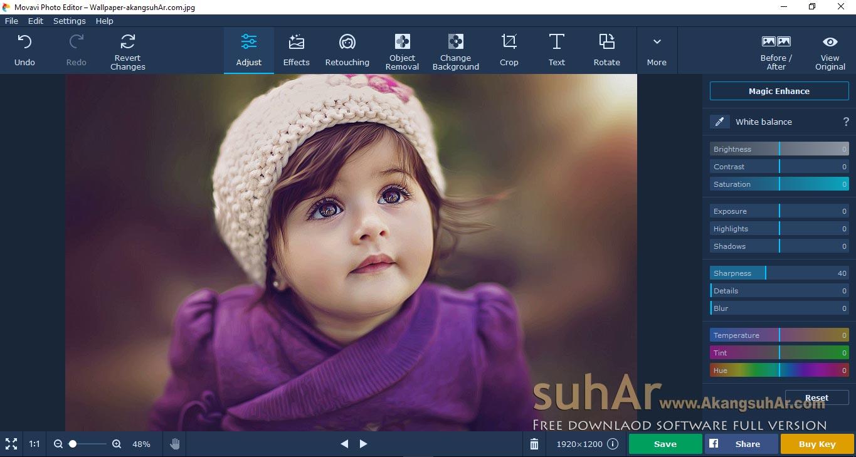 Gratis Download Movavi Photo Editor Full Crack Terbaru, Movavi Photo Editor Plus Serial Number