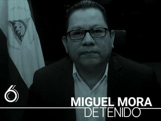 #Nicaragua Detenido MIGUEL MORA BARBERENA, Dueño de 100%Noticias
