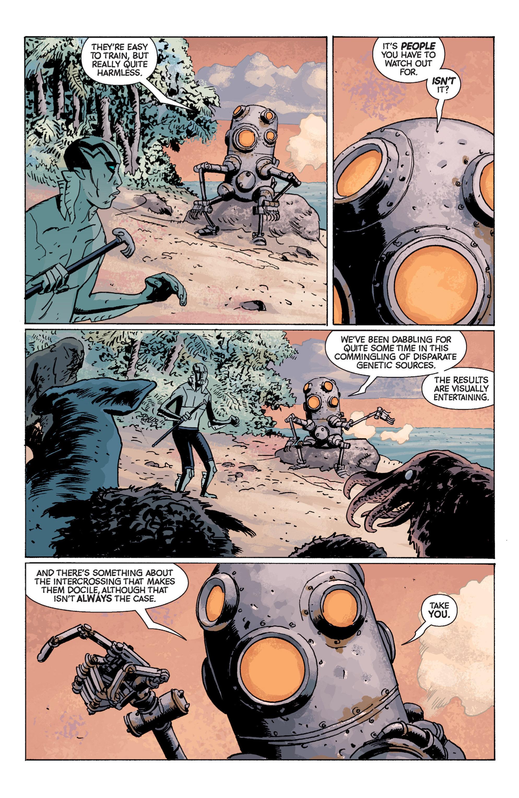 Read online B.P.R.D. (2003) comic -  Issue # TPB 7 - 108