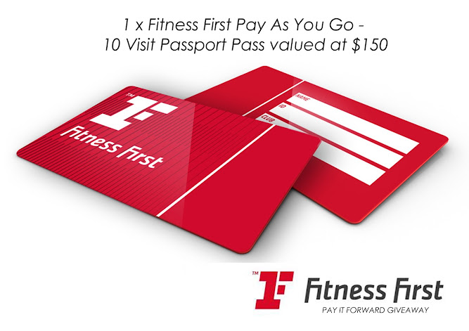 Fitness First Australia 2014 Membership Card