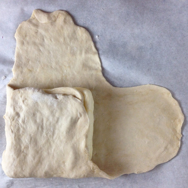 Laminating Dough for Puff Pastry