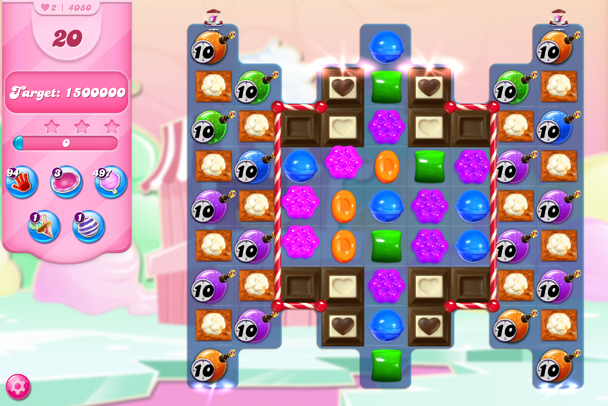 Candy Crush Saga level 4080