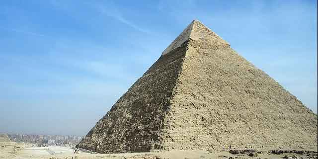 Fact #11: THE GREAT PYRAMID'S WEIGHT (FIND OUT HERE)