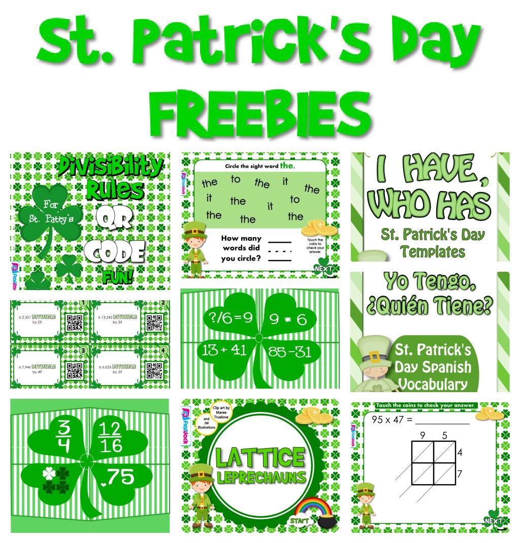 St Patrick S Day Freebies
