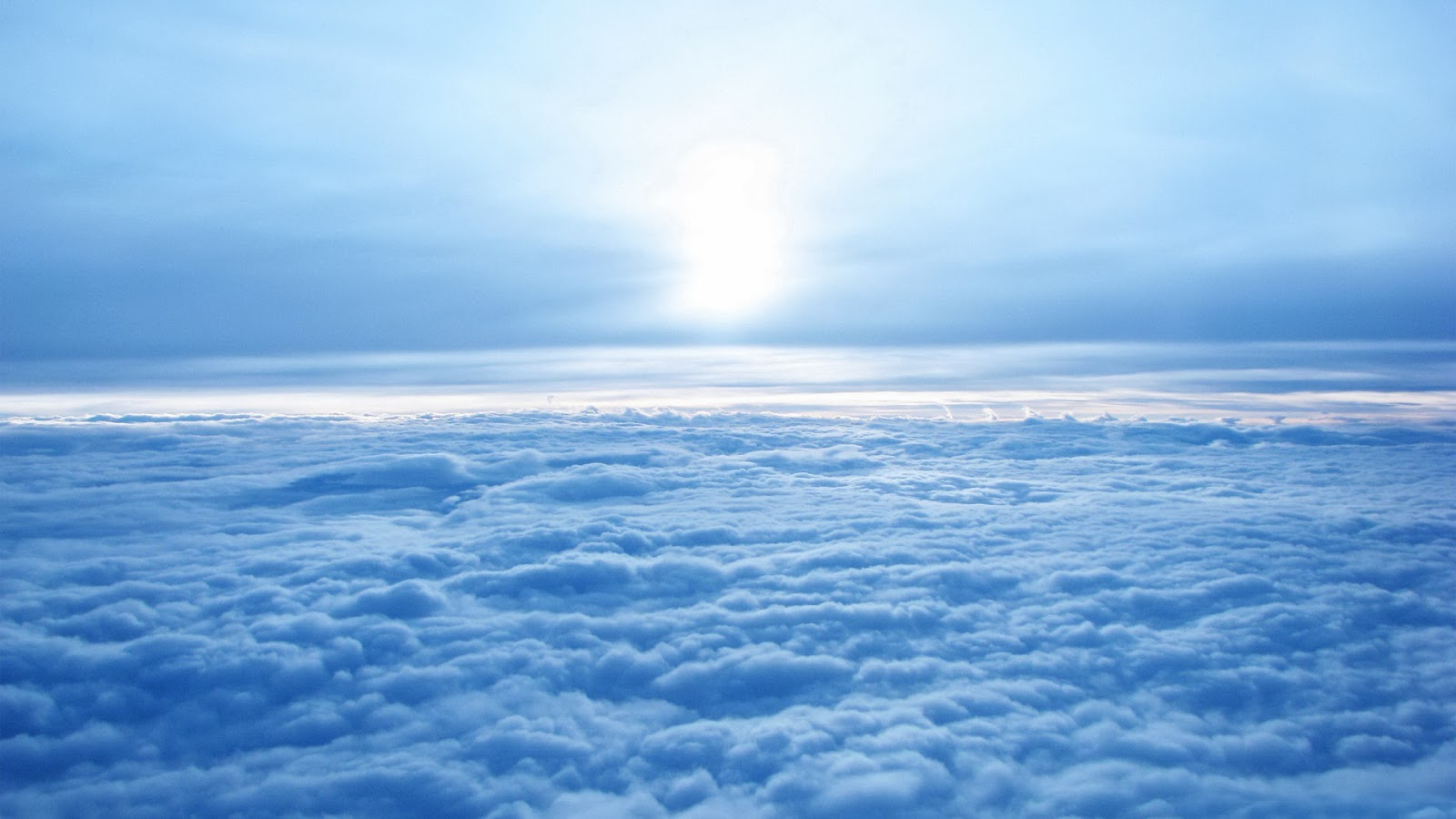 Sun Over Clouds Picture Of Blue Sky Images Wallpapers HD