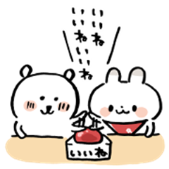 Joke Bear × RyuRyu Rabbit