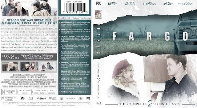 Capa Bluray Fargo Segunda Temporada Completa