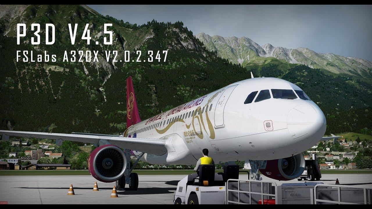 P3Dv4+] - FSLabs - Airbus A320-X v2 0 2 347 ~ ᴍᴇɢᴀᴅᴅᴏɴs ®