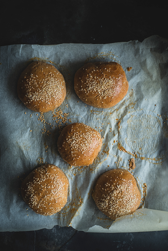 Bułki domowe na burgery