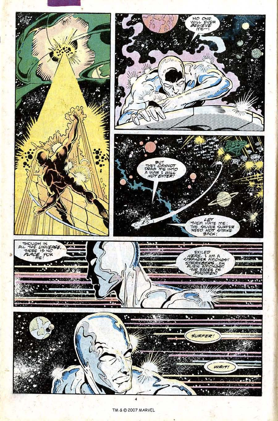 Read online Silver Surfer (1987) comic -  Issue #25 - 6