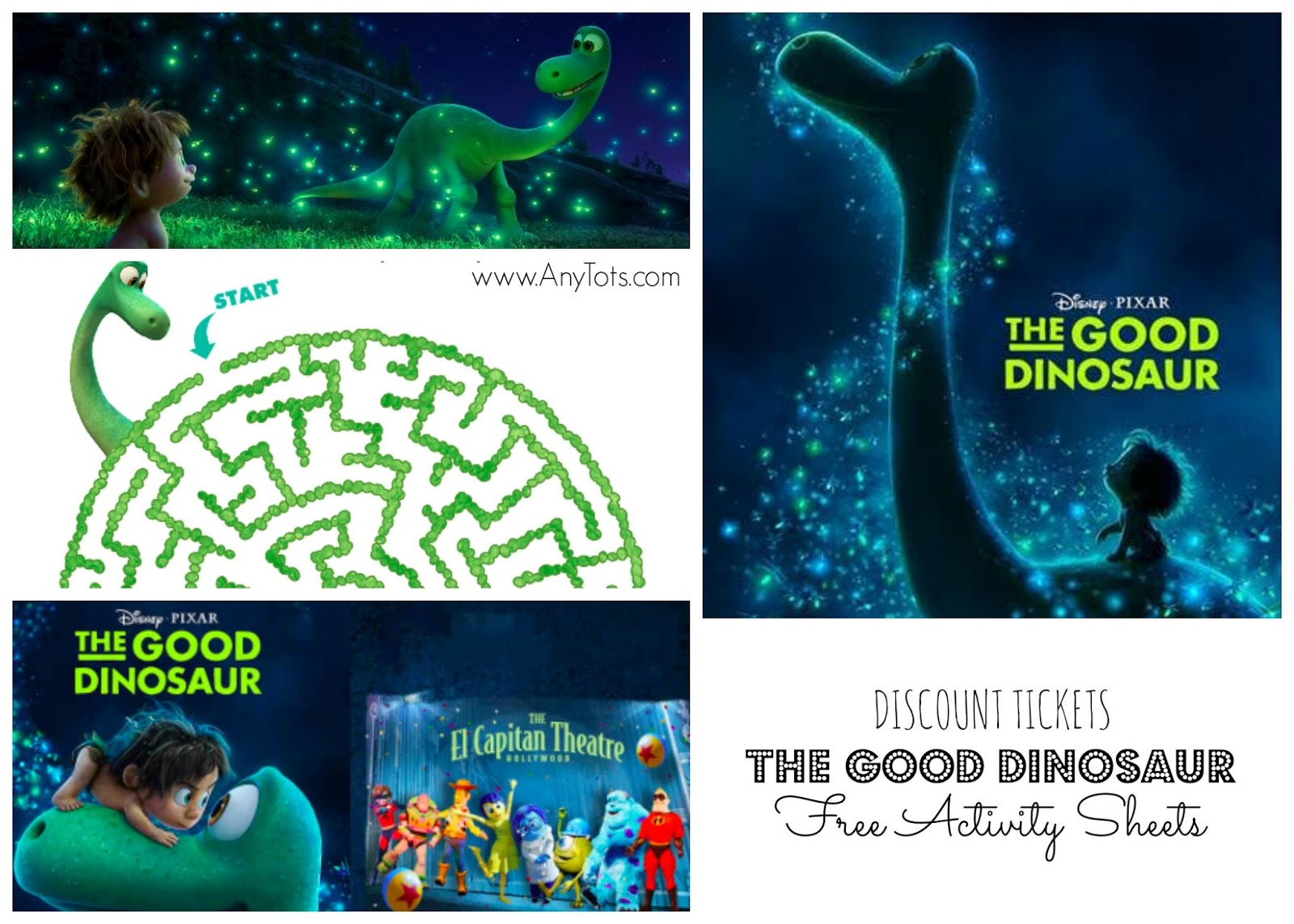 The Good Dinosaur El Capitan Discount Free Activity
