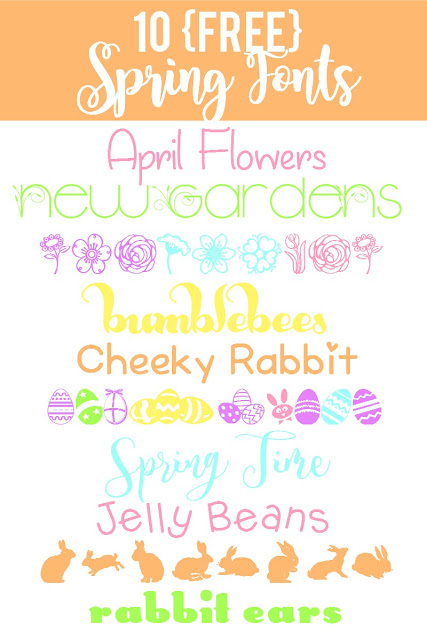 Font Friday: 10 Spring and Easter fonts (all free!)