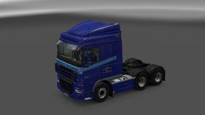 DAF XF Shipley Transport Skin