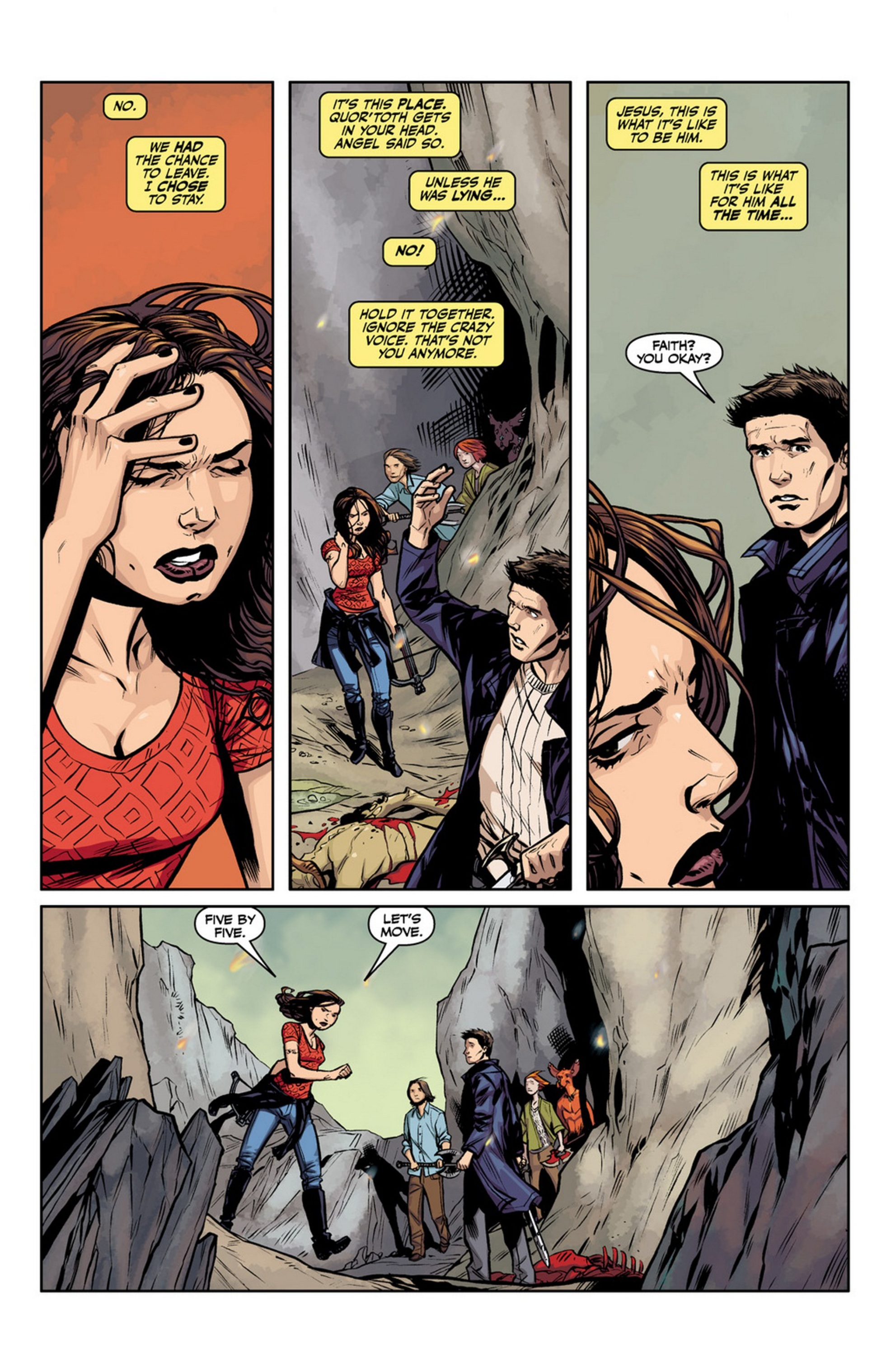 Angel and Faith issue 13 - Page 6