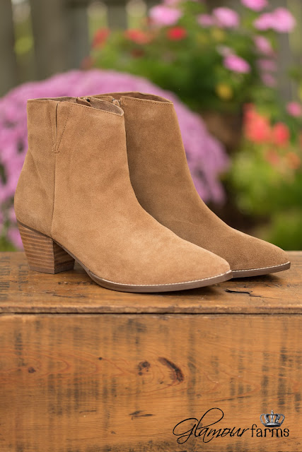 suede booties for women over 50