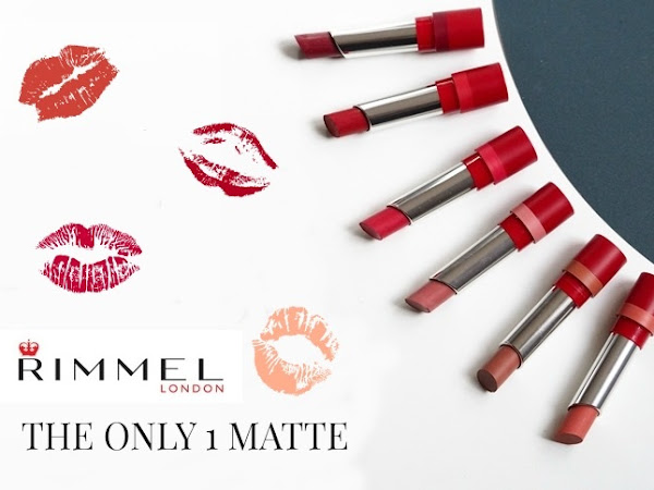 153. RIMMEL THE ONLY 1 MATTE - recenzja i swatches.