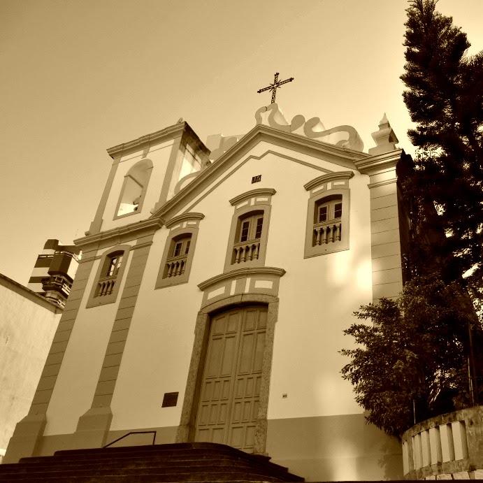 Igreja de Nossa Senhora do Rosário e de São Benedito, em Florianópolis.
