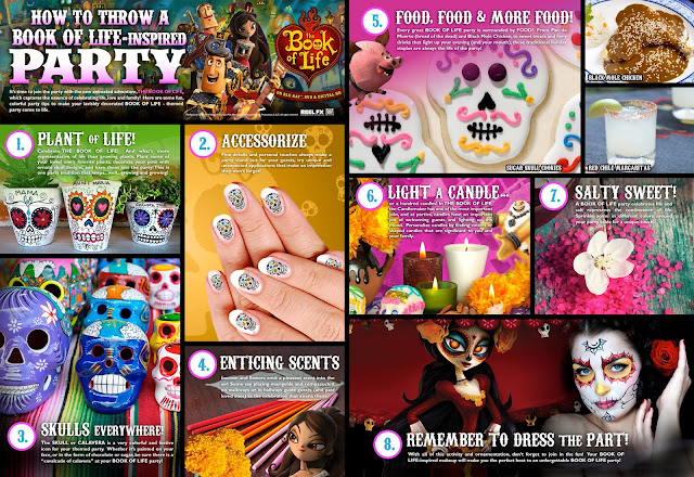How to Throw a Book of Life Inspired Party Halloween