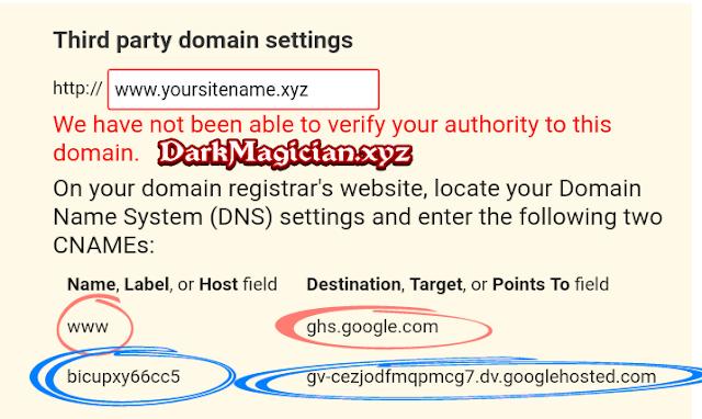 Blogger Course Domain Configuration Part 3 হতে চান নাকি আপনি ও একটি Website এর Owner 25