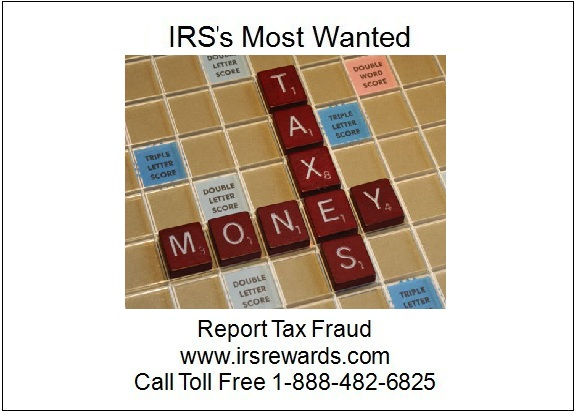 Irs S Most Wanted Report Tax Fraud Felix Robert Lasaracina Pleads Guilty To Fraud And Tax Charges