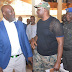 Governor Fayose And Sen. Dino Melaye Accidentally Meet' At Transcorp Hotel In Abuja. (Photos)