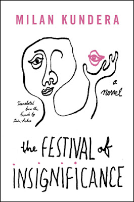 The Festival of Insignificance by Milan Kundera - book cover