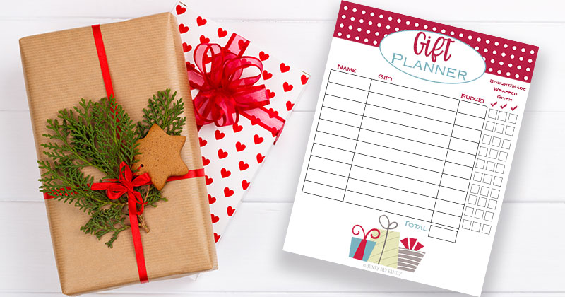 Christmas Shopping Made Easy with a Free Printable Gift List