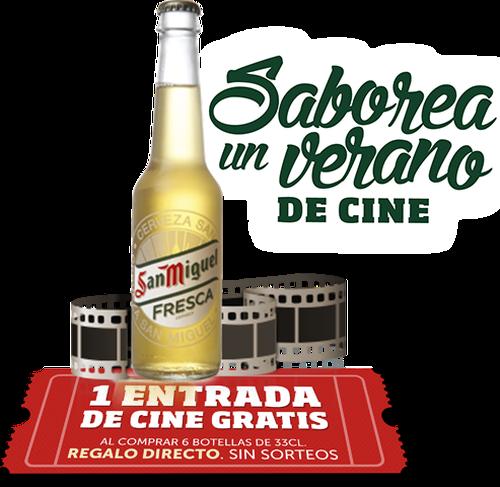alcineconfresca, promoción cine san miguel, entradas de cine gratis, san miguel cine gratis