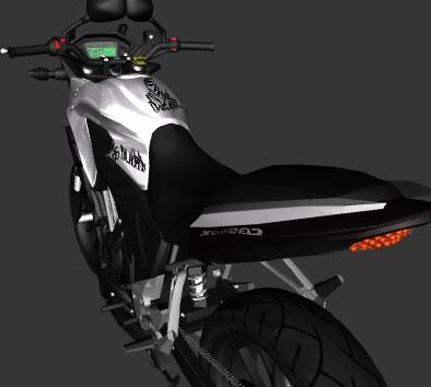 GTA SA - CB 500 X DE FAVELA
