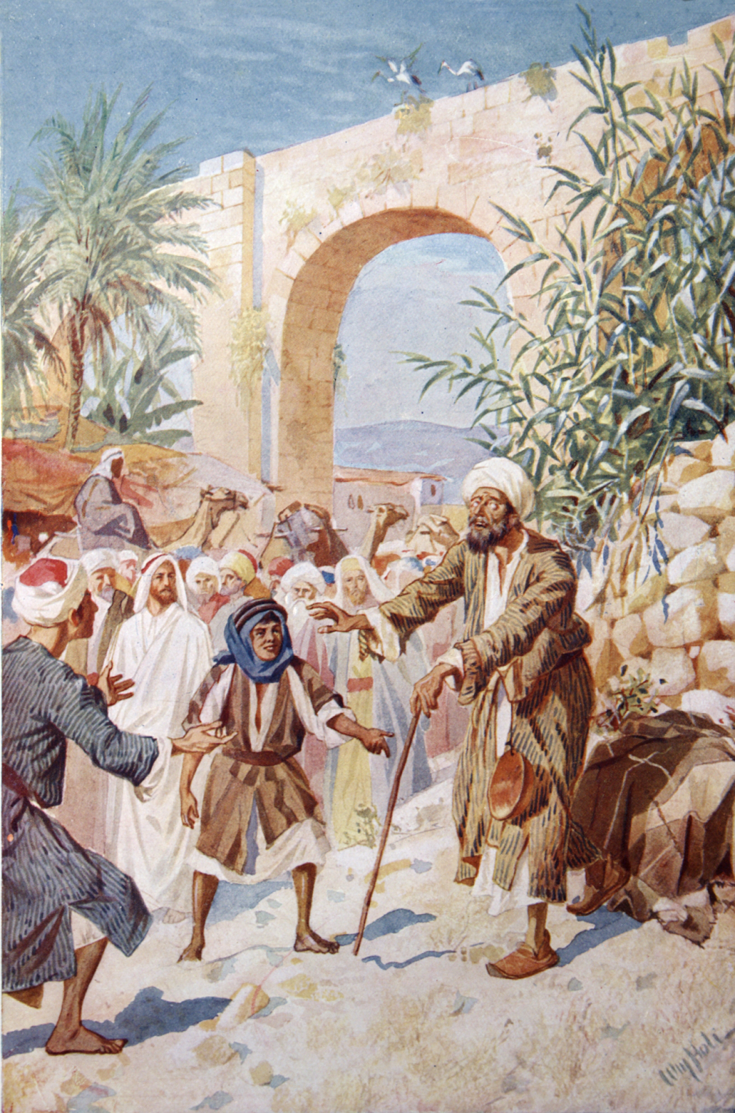 When Bartimaeus was told that Jesus was calling for him, he acted immediately