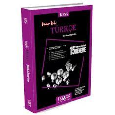 Lodos KPSS Harbi Türkçe Tamamı Çözümlü 15 Deneme (2016)